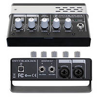 USB аудиоинтерфейс Mackie Onyx Blackjack