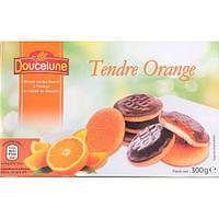 Печенье бисквитное Doucelune Tendre Framboise апельсин Германия 300г