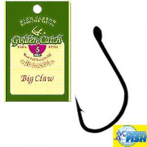 Крючок одинарный Golden Catch Big Claw №7 (12шт)