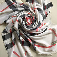 Платок Burberry белый, фото 1