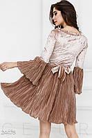 Романтичное платье гофре Gepur 24476