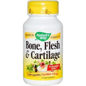 Nature's Way, Пищевая добавка «Кости, мышцы и хрящи», 440 мг, 100 капсул