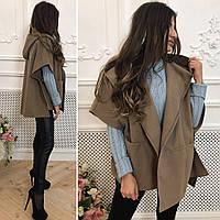 Женское пальто-кардиган  размеры 44-52 Lf2018