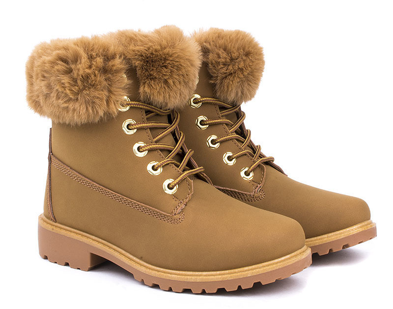 Ботинки комфортные и удобные в носке на зиму