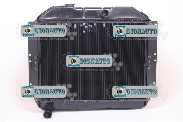 Радиатор охлаждения ЗИЛ-130 4-рядный ШААЗ ЗИЛ 131 (131-1301010-Б2)