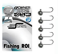 Микро-джиг Fishing ROI Owner №2 7гр (5шт)