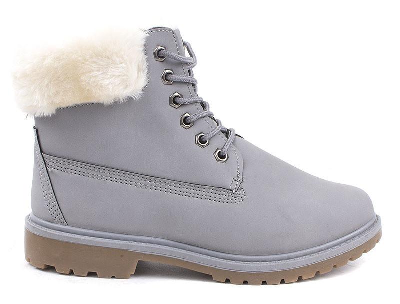 Зимние очень красивые ботинки на каждый день