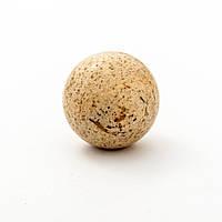 Шар сувенир из натурального камня Яшма пейзажная d-2,5см