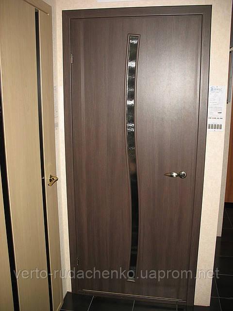 Двери Verto Купава 2.1  цвет Дуб темный «Симплекс»