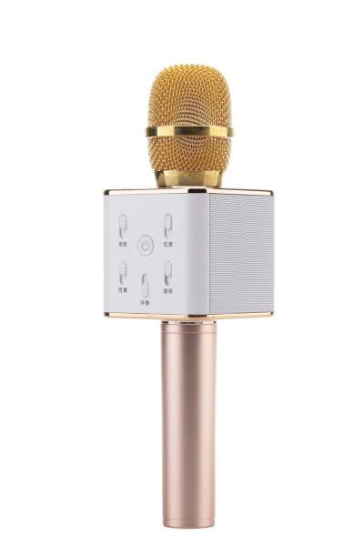 """Беспроводной микрофон караоке Bluetooth Q7. Микрофон со встроенной колонкой - Интернет-магазин """"Myprice"""" в Запорожье"""