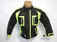 Куртка мото детcкая, подростковая TRV (~12-14 лет), с защитой