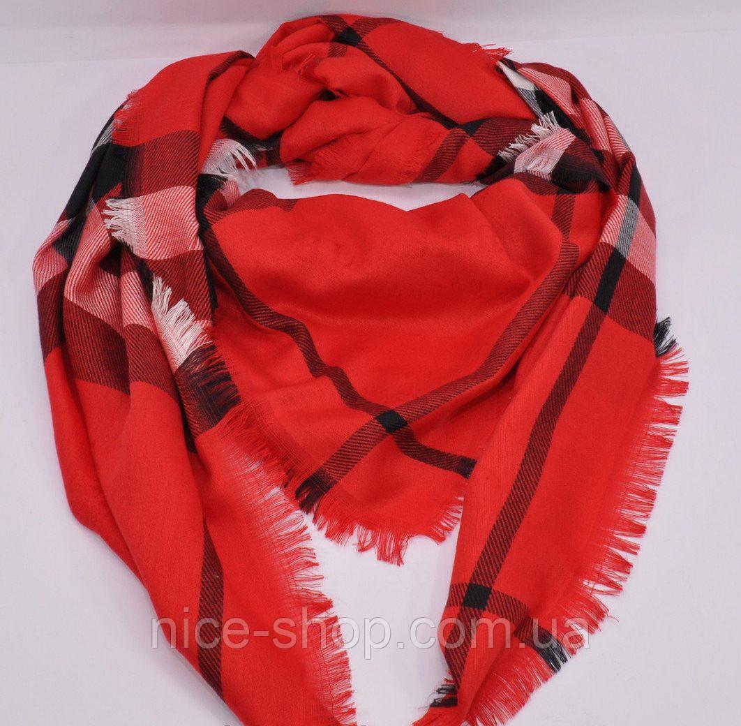 Платок Burberry красный