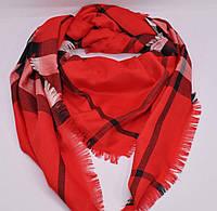 Платок Burberry красный, фото 1
