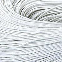 Шнур Вощеный Хлопковый, Цвет: Белый, Размер: Толщина 0.7мм, около 80м/связка, (УТ100005735)