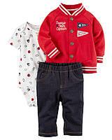 Комплект тройка для мальчика Картерс (Carter's) красный