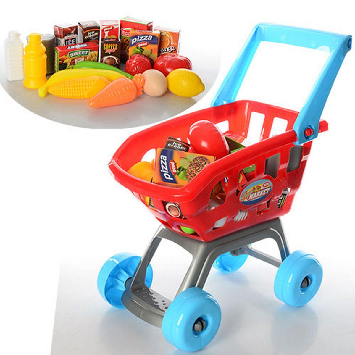 Тележка детская с продуктами, SL32312