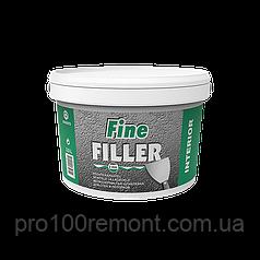 Шпаклевка мелкозернистая Eskaro Fine Filler для стен и потолков 10 л