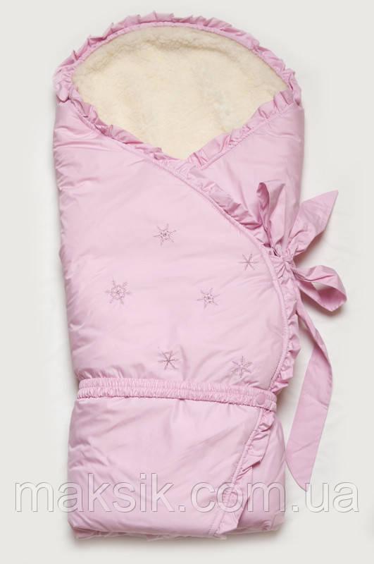 """Конверт-одеяло зимний для новорожденных  """"Сказка"""""""