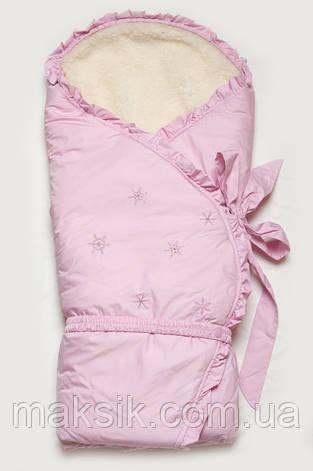 """Конверт-одеяло зимний для новорожденных  """"Сказка"""", фото 2"""