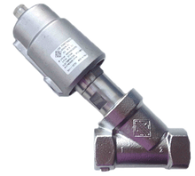 Клапан c пневмоприводом нержавеющий 21IA6T25GC1-5 (ODE, Italy), G1