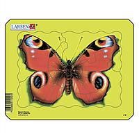 Пазл-вкладыш Бабочка, серия МИНИ, Larsen