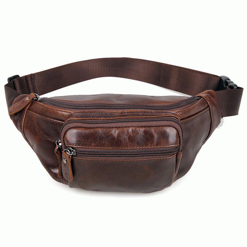 Мужская кожаная сумка на пояс 7218C, цена 1 470 грн., купить в Киеве ... 047bde338aa