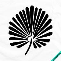 Картинки для бизнеса на болеро Листик [7 размеров в ассортименте] (Тип материала Матовый)