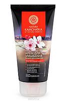 Крем очищающий для умывания Natura Kamchatka для лица Бережное очищение 150 мл