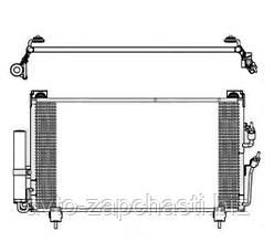 Радиатор кондиционера OUTLANDER -07