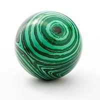 Шар сувенир из камня Малахит (пресс.) d-5см