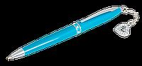 """Ручка шариковая """"love"""", с кристаллами, бирюзовый, в подарочном футляре ls.402028-06"""