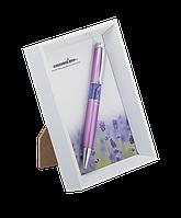 """Ручка шариковая """"lavender"""", сиреневый, в белой фоторамке ls.402003-28"""