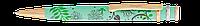 """Ручка шариковая """"flora"""", бирюзовый, в подарочном футляре ls.405000-06"""