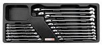 Набор ключей комбинированных 6-24 мм 16 единиц (в ложементе) GAAT1602