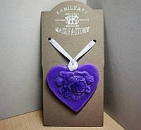 Восковая арома пластина-медальон 30гр Лаванда