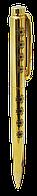 """Ручка шариковая """"flavor"""" с кристаллами в шкатулке, золото ls.404033-45"""