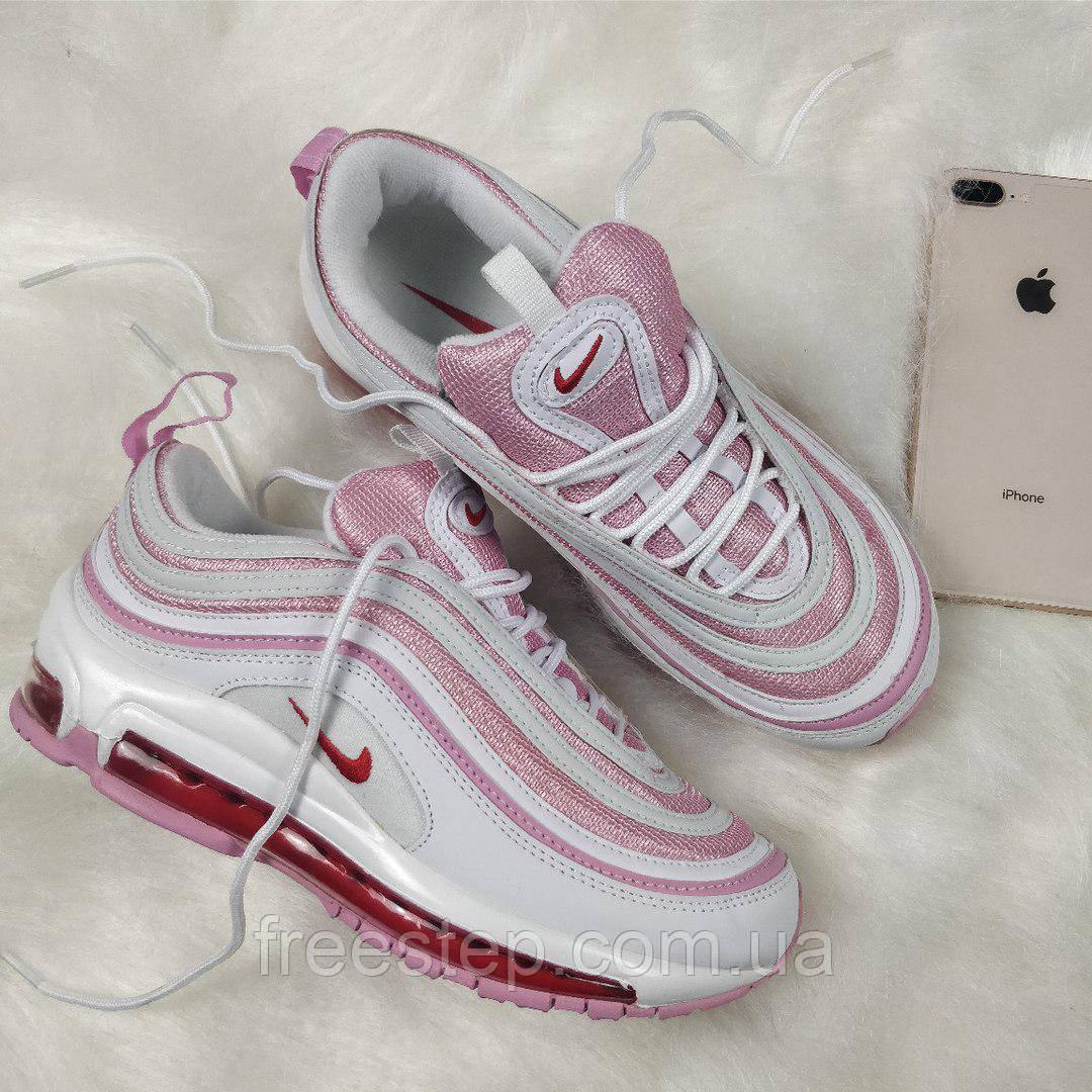 62e6171491ff Женские кроссовки в стиле NIKE Air Max 97 розовые   продажа, цена в ...