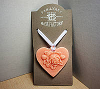 Восковая арома пластина-медальон 30гр парфюмирована ароматом PRADA CANDY women