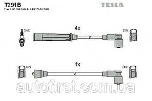 Комплект проводов зажигания Tesla T291B Peugeot