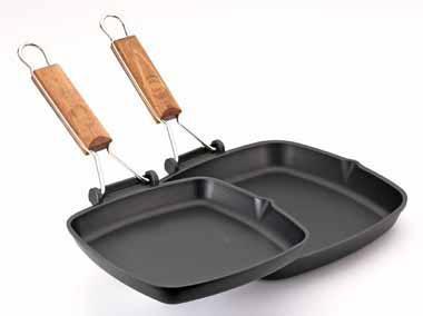 Сковорода-гриль со съемной ручкой Италия 20 см RISOLI saporella
