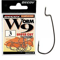 Крючок офсетный Decoy Worm 9 Upper Cut №4/0 (6шт)