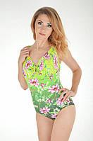 Совместный купальник Bahama 101-682 46D Зеленый