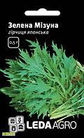 Семена горчицы японской Зеленая мизуна, 0.5г, Hem, Голландия, семена Леда Агро