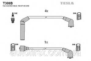 Комплект высоковольтных проводов Tesla T308B Hyundai