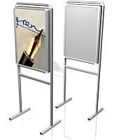 Рекламно-информационная стойка световая с клик системой В2 (500х700 мм)