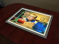 Тонкий лайтбокс фреймлайт (FrameLight), А4 формат (Вид: Двухсторонний;  Нанесение пленки: ORACAL 641 серии 1 слой;)