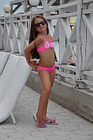Детский раздельный купальник Della Irmina R 110 (4) Розовый