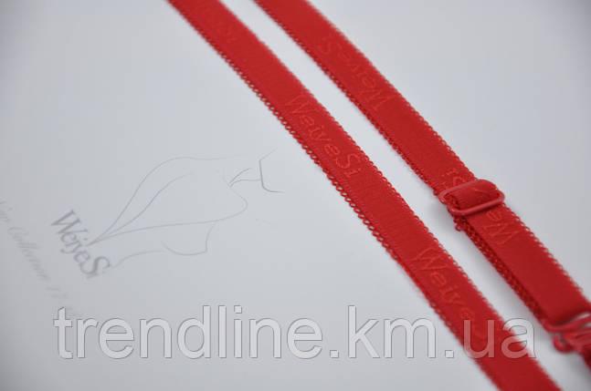 Бретели WeiyeSi  ширина - 10 мм Красный, фото 2