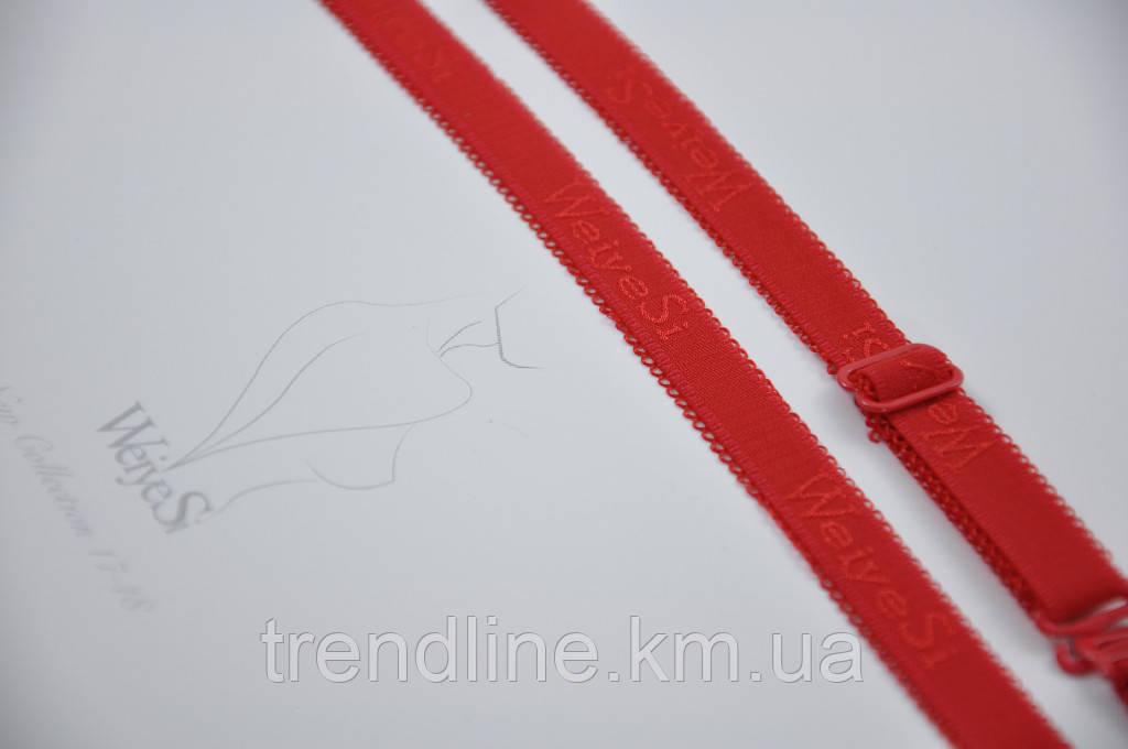 Бретели WeiyeSi  ширина - 12 мм Красный