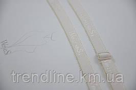 Бретели WeiyeSi  ширина - 12 мм Кремовый